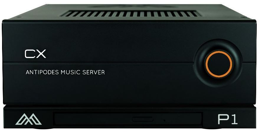 Antipodes CX Musikserver mit P1 CD-Ripper