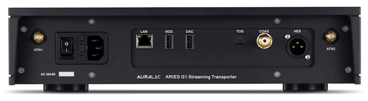 auralic aries g1 streaming bridge back